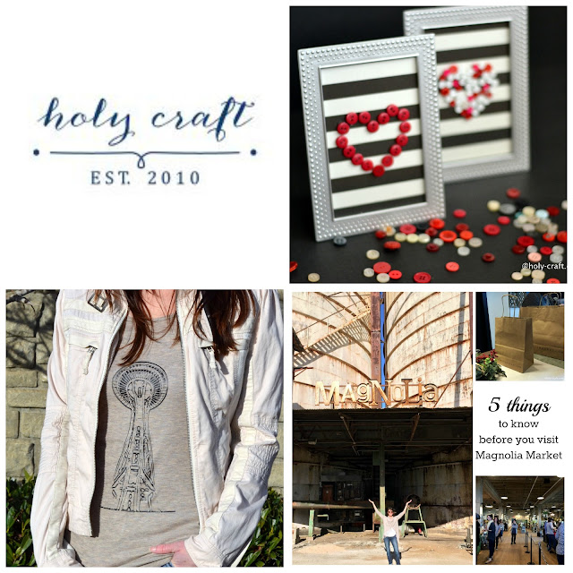 create button art and a custom t-shirt and visiting Magnolia Farms