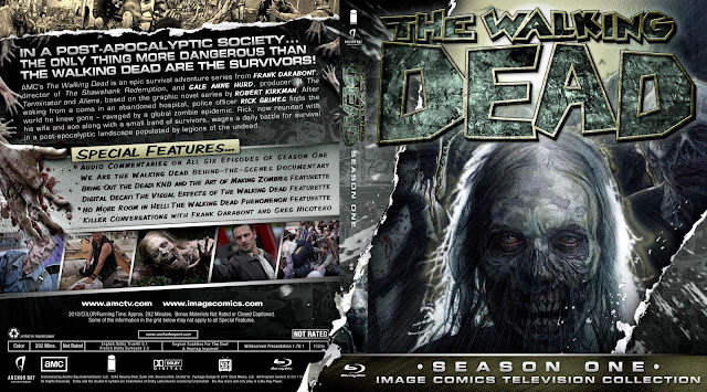Capa Bluray The Walking Dead Primeira Temporada