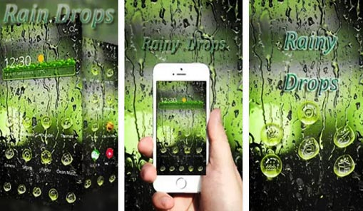 Nuevo Tema Gotas de lluvia
