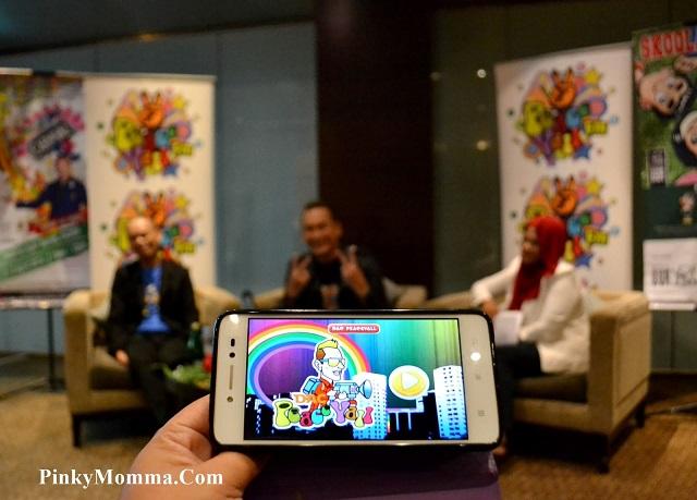 """Majlis pelancaran permainan applikasi """"DAC PeaceYall"""" oleh Dato Ac Mizal"""