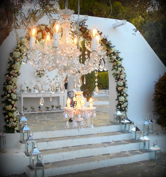 GREEK WEDDING FLOWERS : ISLAND RESIDENCE WEDDINGS BY ROSETTA