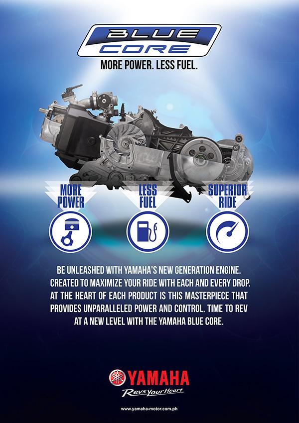 Yamaha Blue Core Technology