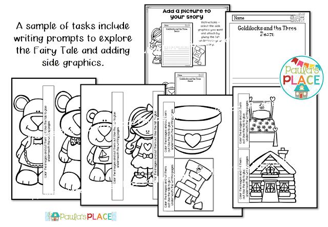 Paula's Place: Goldilocks and the Three Bears