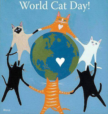 August 8th is World Cat Day