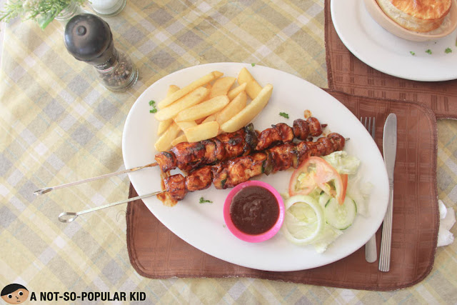 Cowboys Chicken Skewers, Boracay