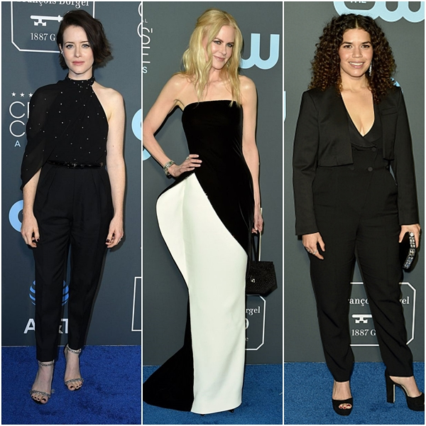 Looks do Critics' Choice Awards 2019