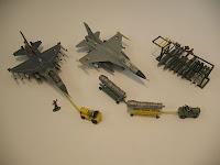 2 F16's