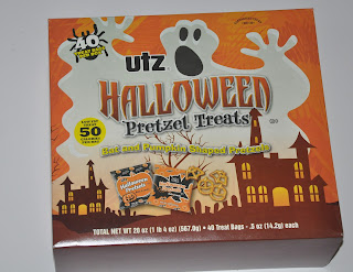 4th 5th and 6th grade math with Halloween pretzels