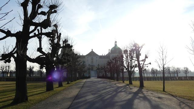Schloss Moritzburg - von der Gartenseite aus