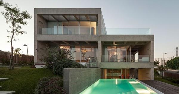 hogares frescos casa moderna de hormig n en lisboa