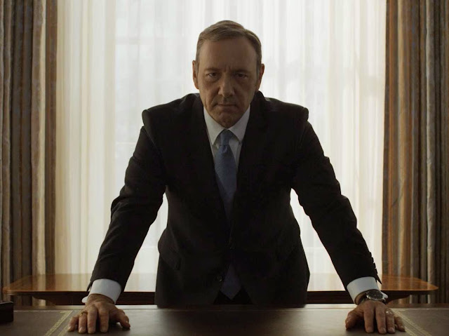 Frank Underwood (Kevin Spacey) dans House of Cards
