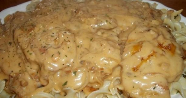 New Cake Recipes: Smothered Chops / Oven or Crock Pot