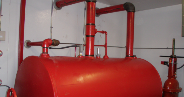 Anvil Fire Blog Installation Of Diesel Fuel Tanks For