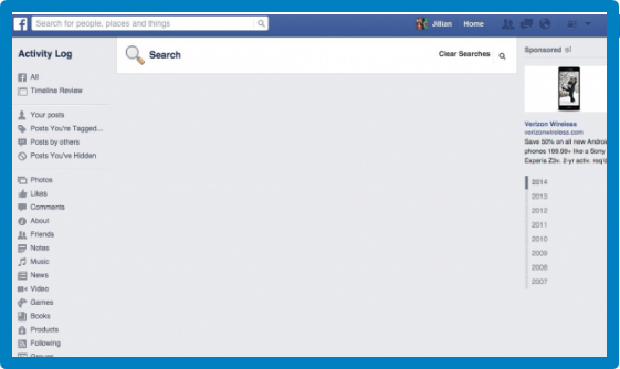 How To Delete Search Facebook