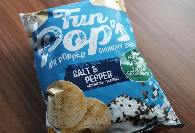 Die neuen FunPop's Salt & Pepper aus Kichererbsen und Kartoffeln.