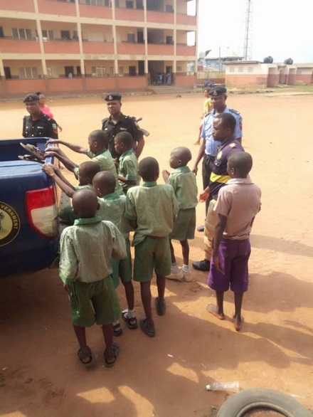 See Primary School Pupils Initiated Into Cult Group In Lagos (Photo)