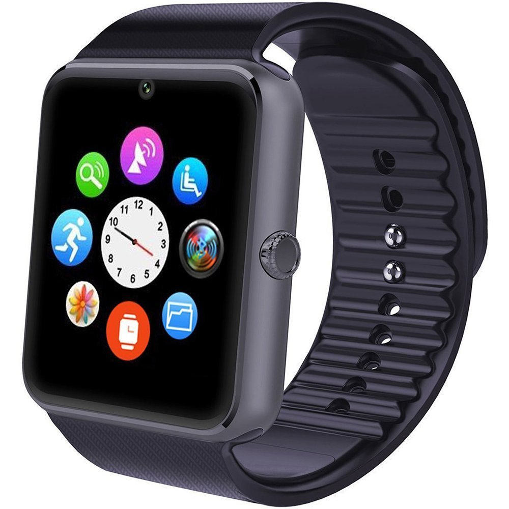 Willful Smart Watch Telefono con SIM Card Slot Fotocamera Cronometro OLED Touch Screen