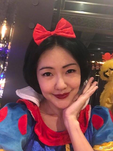 Xiao S Halloween look 2017