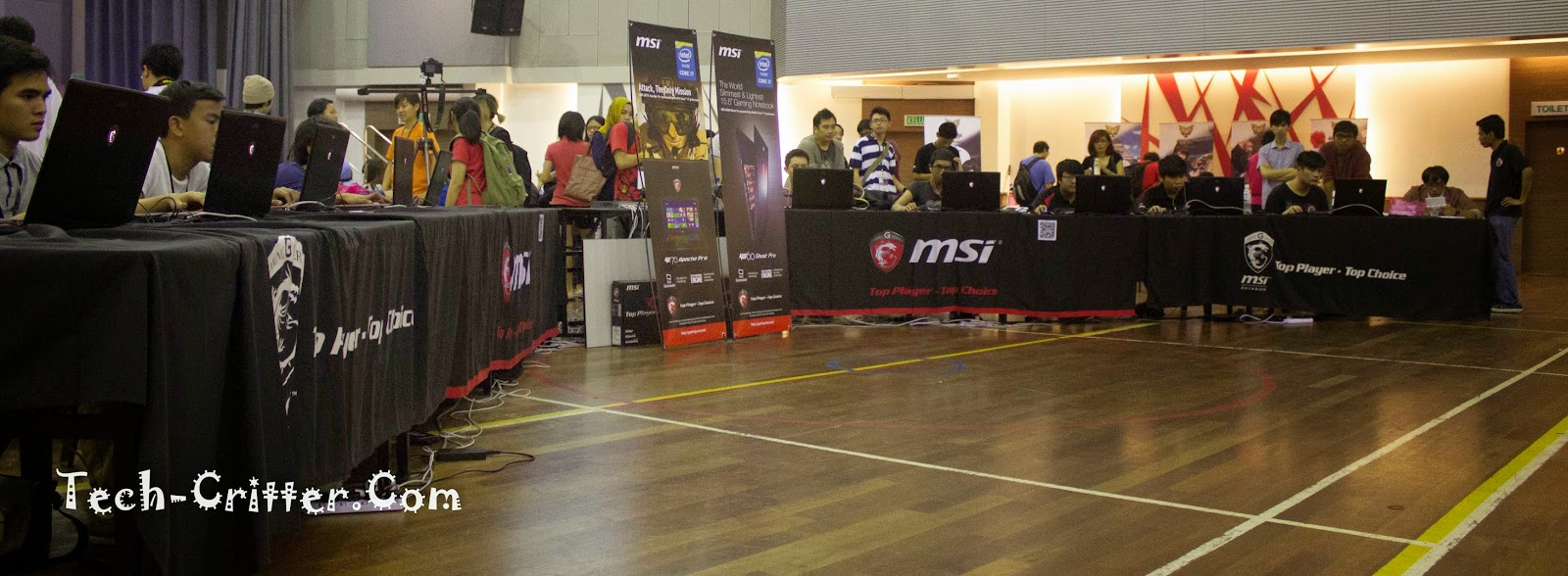 Coverage of PLAY! Convention @ KDU College 184