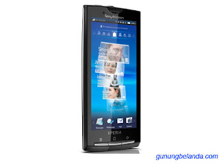 Cara Flashing Sony Ericsson Xperia X10 X10i