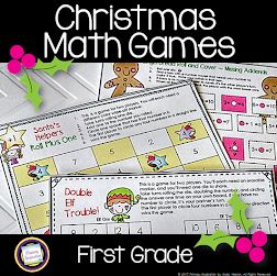 1st Grade Math for Christmas