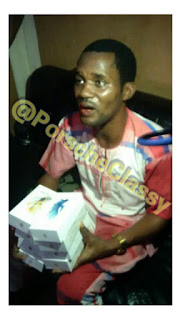 Is it true? Seun Egbegbe Caught With Stolen iPhones In Computer Village [PHOTOS]