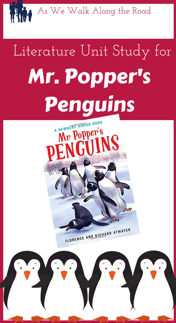 Unit Study for Mr. Popper's Penguins