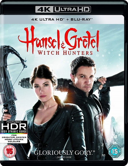 Hansel & Gretel Witch Hunters 4K (Hansel y Gretel: Cazadores de Brujas 4K) (2013) 2160p 4K UltraHD HDR BluRay REMUX 45GB mkv Dual Audio Dolby TrueHD 5.1 ch