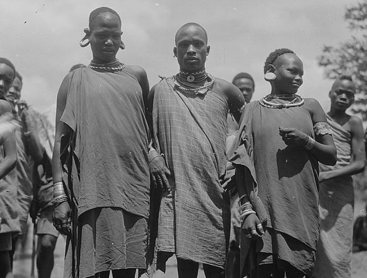 Kikuyu Tribe in Nyeri, Mt. Kenya 1935