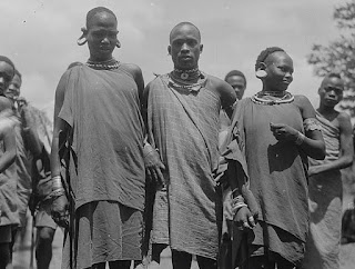 Kikuyu Tribe in Nyeri, Mt. Kenya 1935