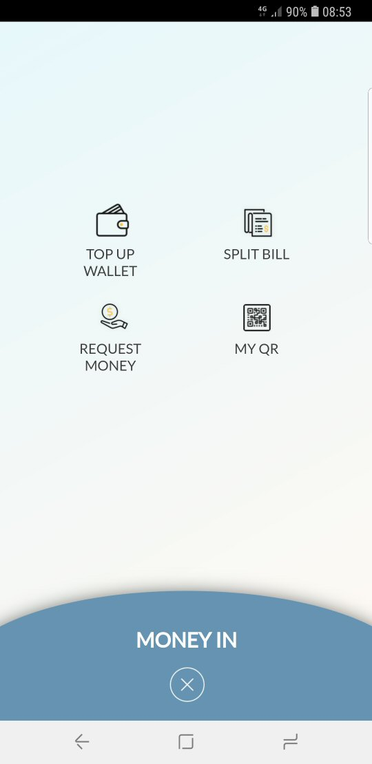 "Select ""Top-up Wallet"""