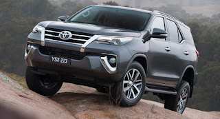 Toyota Fortuner Baru 2016 VS Mitsubishi Pajero Sport VS Isuzu Mu-X