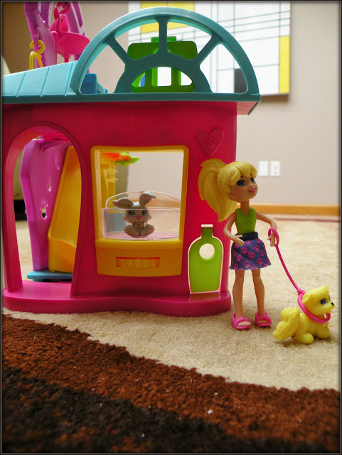 Polly Pocket Walking Puppy