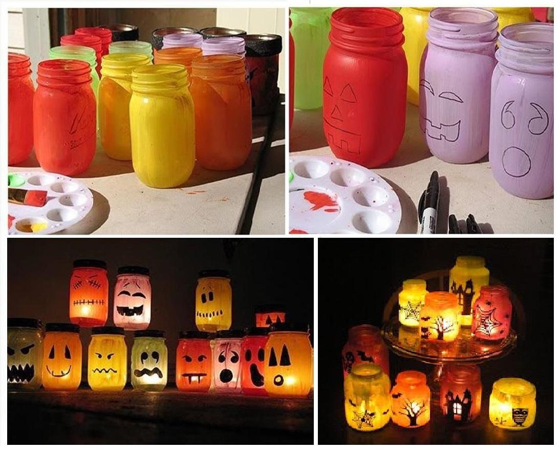 12 dicas de decoraç u00e3o para festas de halloween fáceis e baratas Amando Cozinhar Receitas  -> Decoração De Festas De Halloween