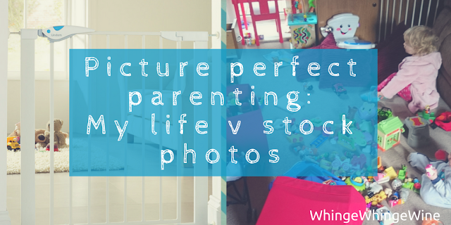 Picture perfect parenting: My real life vs the stock photos