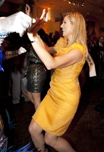 Princess Maxima and Prince Willem-Alexander attended a reception at the Grand Hyatt hotel in Sao Paulo