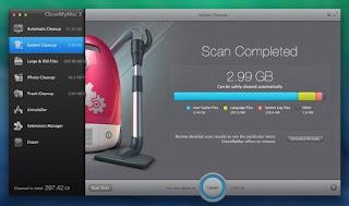 برنامج تنظيف وصيانة أنظمة - ماك CleanMyMac