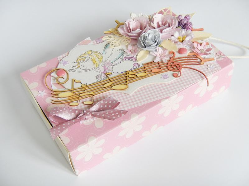 Pudełko handmade na biżuterię
