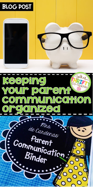How to keep all of your parent communication documented, organized, and in one convenient place. Includes access to a FREE Parent Contact Log for teachers.