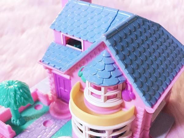 Polly Pocket Bay Window House