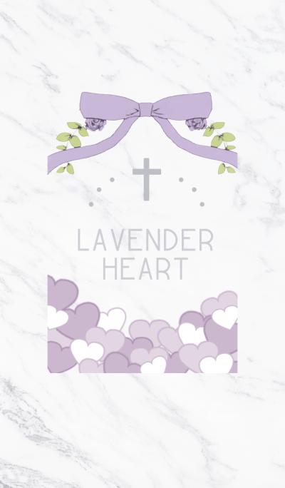 Heart of lavender
