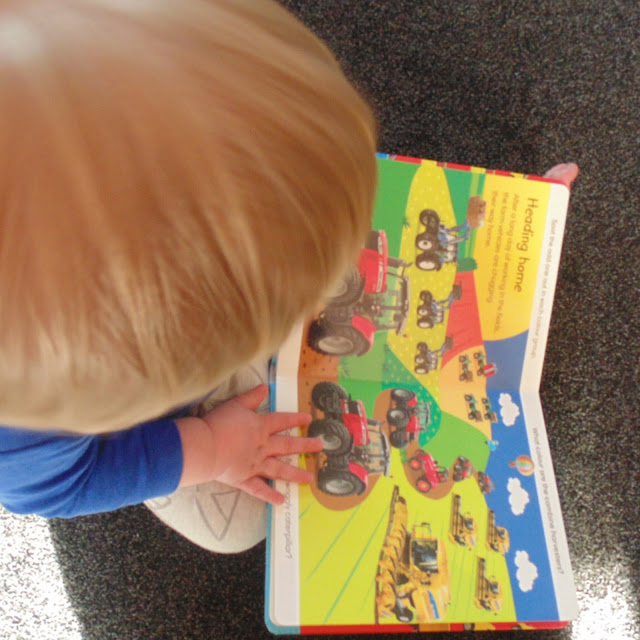 Toddler reading spot the difference books