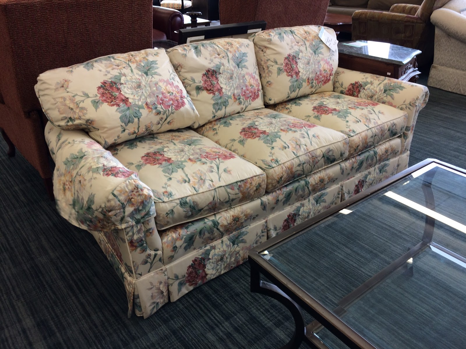 Delicieux Fabulous Pennsylvania House Floral Sofa In Excellent Condition And Priced  $125