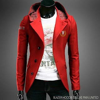 Jaket Jas Hoodie Manchester United