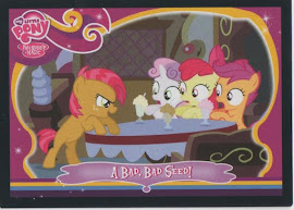 My Little Pony A Bad, Bad Seed! Series 2 Trading Card