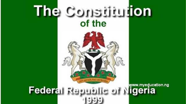 Nigerian Constitution: Federal Republic of Nigeria Constitution