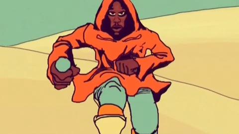 Spate magazine animated Shorts Episode 1 feat Hood The Shogun