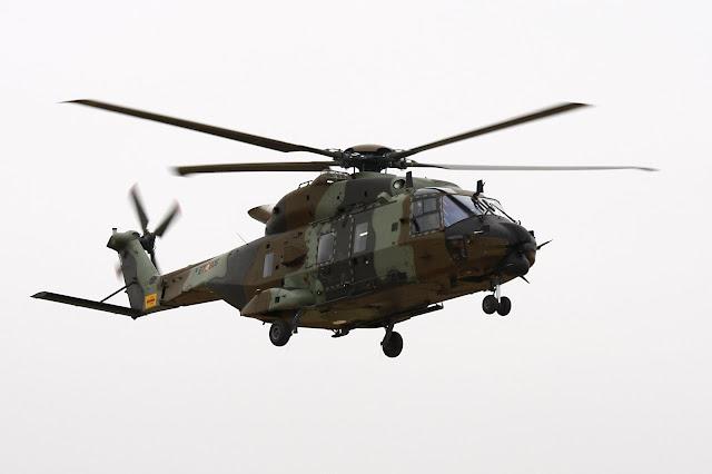 El Gobierno aprueba la compra de 23 helicópteros NH-90, 7 de ellos en su versión naval