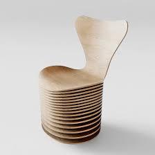 gambar contoh model kursi kayu unik