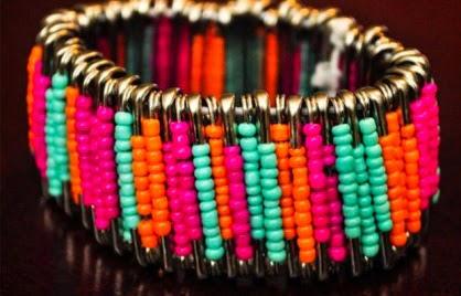 pulsera diy de colores